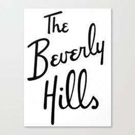 Beverly Hills Hotel  Canvas Print
