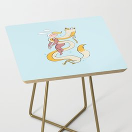 Fiona and Cake Scarf Side Table