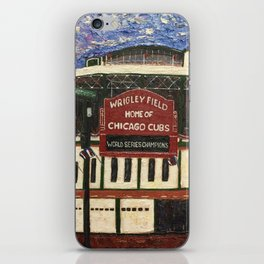 Cubs Win!! iPhone Skin