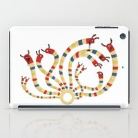 hydra iPad Cases featuring LERNAEAN HYDRA by Villie Karabatzia