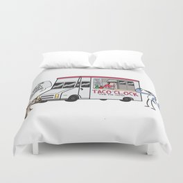 A Taco Truck on EVERY Corner!! Duvet Cover