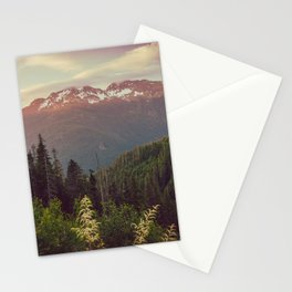 Mountain Sunset Bliss - Nature Photography Stationery Cards