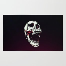Skull Roar Rug