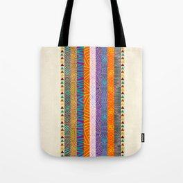 Tribal Stripes Tote Bag