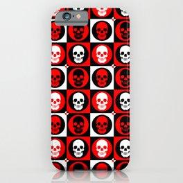 Skull Pattern | Pop Art iPhone Case