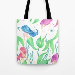 Mermaid Girl Gang Tote Bag