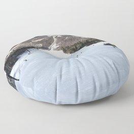 Skiing Superstar, Killington Floor Pillow