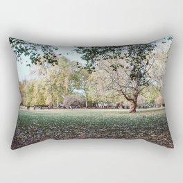 Parque de Londres en otoño. Rectangular Pillow