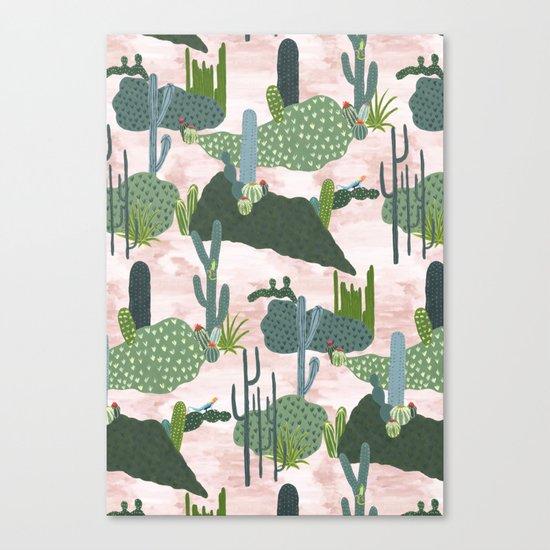 Cacti II  Canvas Print