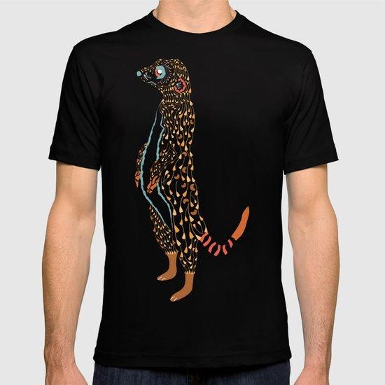 Abstract Meerkat T-shirt