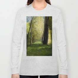 "Odilon Redon ""Lane of Trees"" Long Sleeve T-shirt"