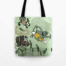 9 lives - game over Tote Bag