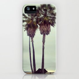 June Gloom on Venice Beach iPhone Case