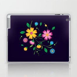 A bunch of colorful flowers Laptop & iPad Skin