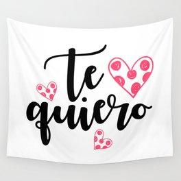 Te quiero Wall Tapestry