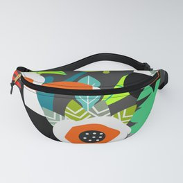 Tropical vibe with toucans Fanny Pack
