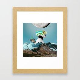 Other World II Framed Art Print