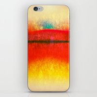 rothko iPhone & iPod Skins featuring After Rothko 8 by Gary Grayson