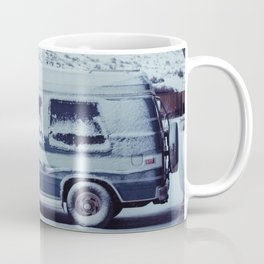 Snowy Van - Sheridan, WY Coffee Mug