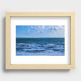 Ocean Water View Recessed Framed Print