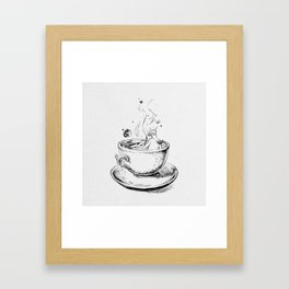 Heaven cup. Framed Art Print