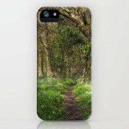 Kears Woodland Walk iPhone Case