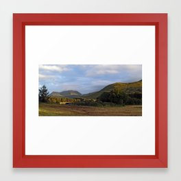 Glen Forsa and Beinn Tallaidh Framed Art Print