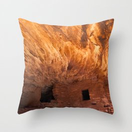 House on Fire Throw Pillow