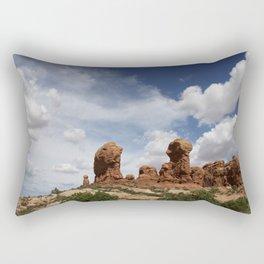 Parade Of the Elephants Rectangular Pillow