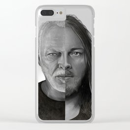 David Gilmour Clear iPhone Case