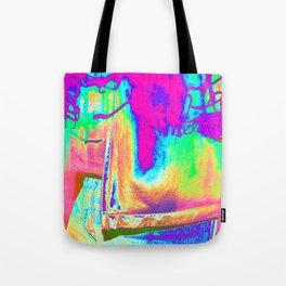 Technicolor Jacket Tote Bag