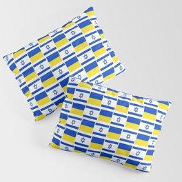 Mix of flag: Israel and Ukraine Pillow Sham