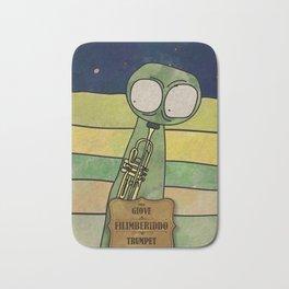 Filiberiddo from Jupiter (Trumpet) Bath Mat