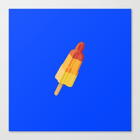 Ice Rocket Canvas Print