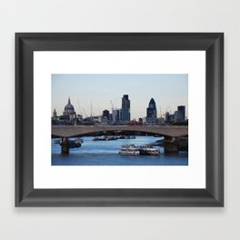 London Thames Framed Art Print