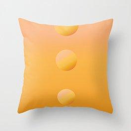 Skipping Stones Throw Pillow