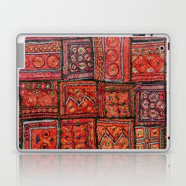 V5 Red Traditional Moroccan Design - A3 Laptop & iPad Skin
