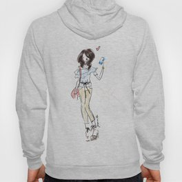 Spring Summer Fashion Doodle Hoody