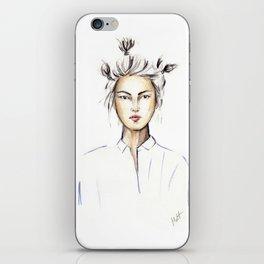 Asian girl iPhone Skin