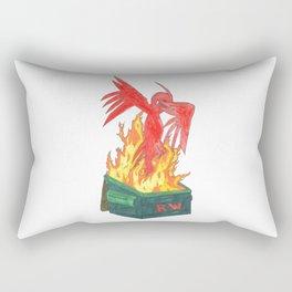 Dumpster Phoenix Rectangular Pillow