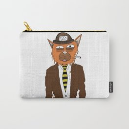 Fuck Off Bum Cat Carry-All Pouch
