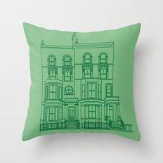 Town House Throw Pillow