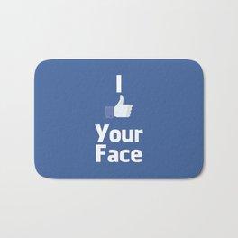 Your Face Bath Mat