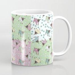 Pajama'd Baby Goats - Patchwork Coffee Mug