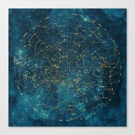 Under Constellations Canvas Print