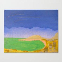 Emerald Sounder Canvas Print