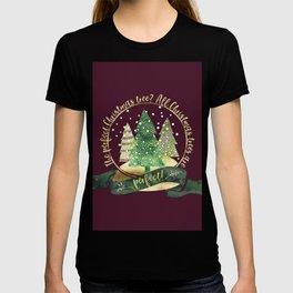 The perfect Christmas tree? All Christmas trees are perfect! Charles Barnard T-shirt