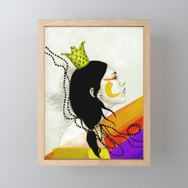 I accept my power Framed Mini Art Print