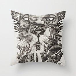 The Kingdom Throw Pillow