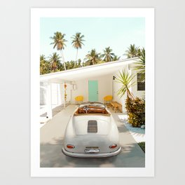 The Getaway House Art Print